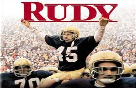 #45 Rudy is the last Notre Dame player carried off the field since the 70's